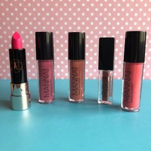 ABH Manna Kadar Smashbox Perfectly Pink Lip Bundle